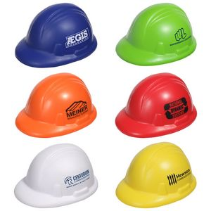 Hard Hat Stress Relief Squeeze Toy