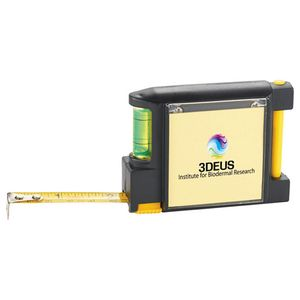 WorkMate 3-in-1 Tape Measure with Pad Pen and Leve