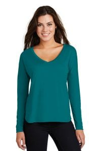 Women's Drapy Long Sleeve Tee
