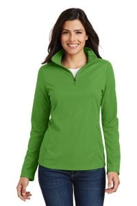 ladies mesh 1/4 zip