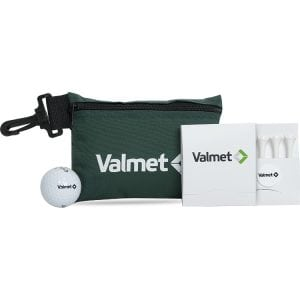golf ditty bag with tees