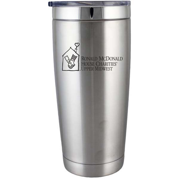 22 Oz. BOSS Stainless Double Wall Vacuum Insulated Travel Mug