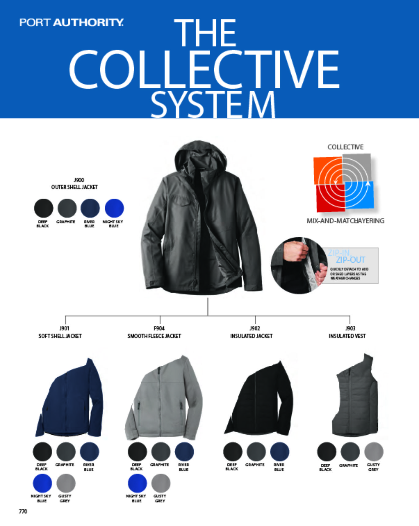 Collective System - Jackets